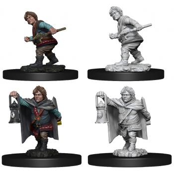 D&D Nolzur's Marvelous Miniatures - Male Halfling Rogue