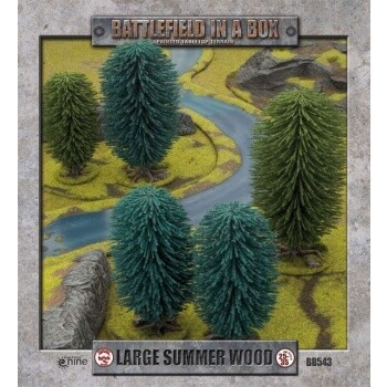 Battlefield In A Box - Large Summer Wood (x1) - 30mm