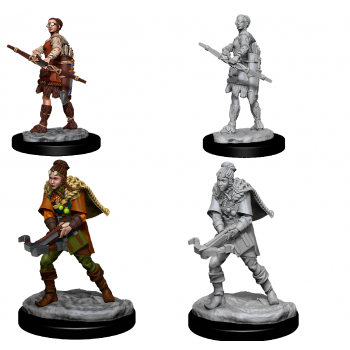 D&D Nolzur's Marvelous Miniatures - Female Human Ranger