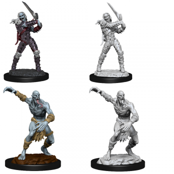 D&D Nolzur's Marvelous Miniatures - Wight & Ghast