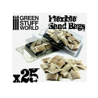Modellsandsäcke x25 Sand Bags - Greenstuff World