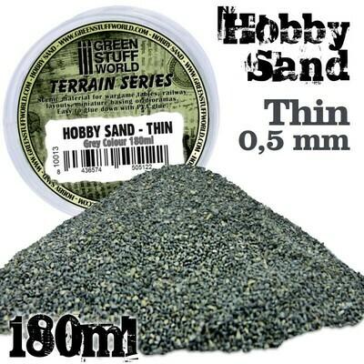 Hobby Sand Feiner Thin Modellbau-Sand 180ml - GrauGreenstuff World
