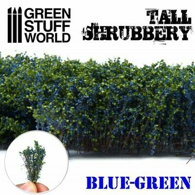 Hohes Gebüsch - Blau Grün Tall Shrubbery - Greenstuff World