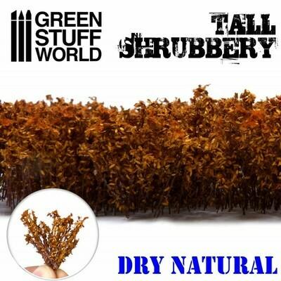 Hohes Gebüsch Tall Shrubbery - Naturtrocken - Greenstuff World