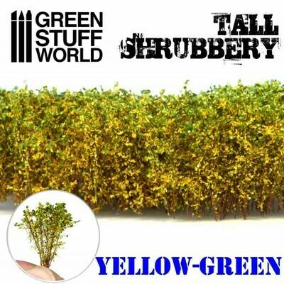 Hohes Gebüsch - Gelb Grün Tall Shrubbery - Greenstuff World