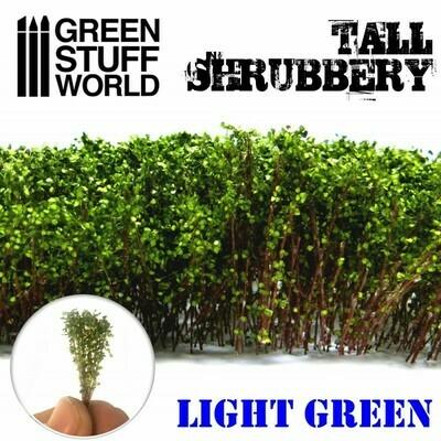 Hohes Gebüsch - Hellgrün Tall Shrubbery - Greenstuff World