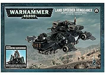 MO: Land Speeder Vengeance - Space Marines - Warhammer 40.000 - Games Workshop
