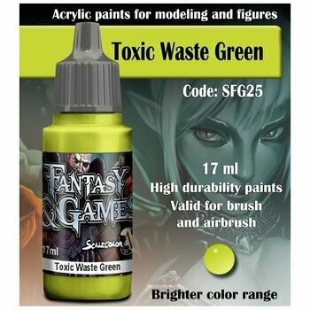 Toxic Waste Green - Scalecolor - Scale75