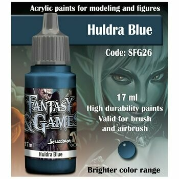 Huldra Blue - Scalecolor - Scale75