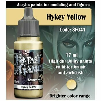 Hykey Yellow - Scalecolor - Scale75