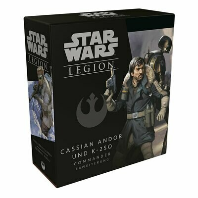 Star Wars: Legion -Cassian Andor und K-2SO - DE/IT - Fantasy Flight Games