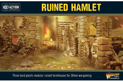 Ruined Hamlet - Bolt Action - Warlord Games