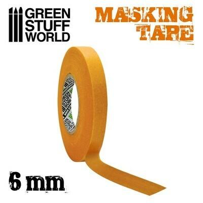 Abdeckband Masking Tape - 6mm
