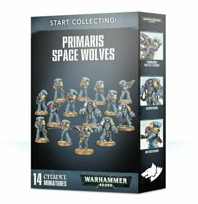 Start Collecting! Primaris Space Wolves - Warhammer 40.000 - Games Workshop