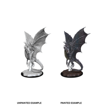 D&D Nolzur's Marvelous Miniatures - Young Silver Dragon