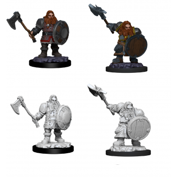 D&D Nolzur's Marvelous Miniatures - Male Dwarf Fighter