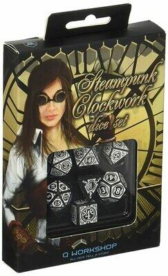 Steampunk Clockwork Black/White (7) - Q-Workshop