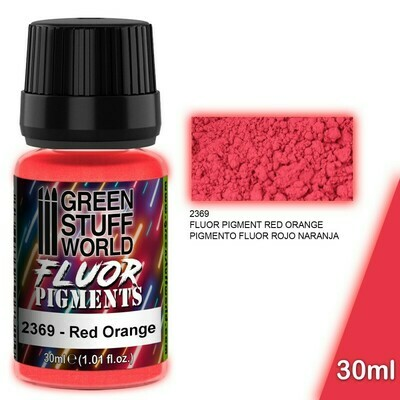Pigment FLUOR ROT ORANGE - Greenstuff World