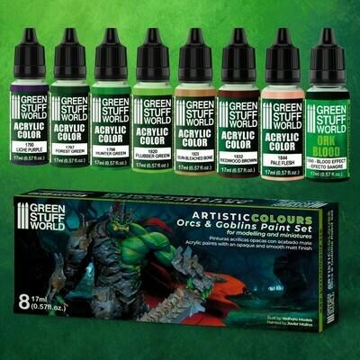 Farbset - Orks und Goblins  - Greenstuff World