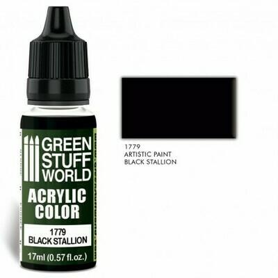 Acrylic Color BLACK STALLION  - Greenstuff World