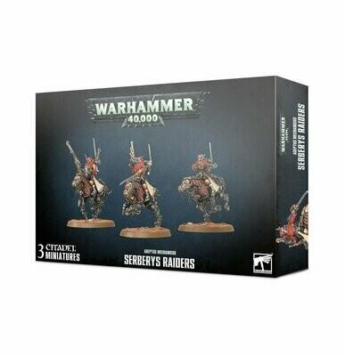 Serberys Raiders Serberys Sulphurhounds - Adeptus Mechanicus - Warhammer 40.000 - Games Workshop