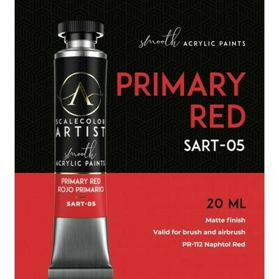 Scalecolor Artist - PRIMARY RED - Scale 75