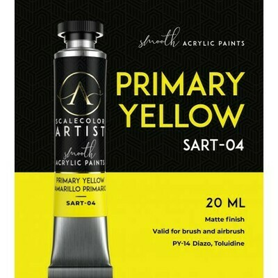 Scalecolor Artist - PRIMARY YELLOW - Scale 75