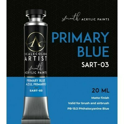 Scalecolor Artist - PRIMARY BLUE - Scale 75