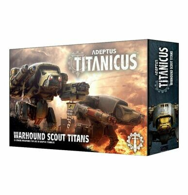 Adeptus Titanicus Warhound Scout Titans - Warhammer 40.000 - Games Workshop