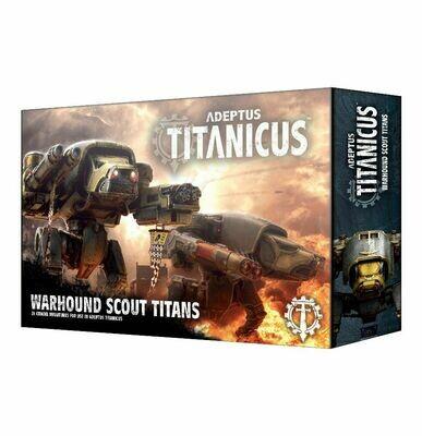 Adeptus Titanicus Warhound Scout Titans - Warhammer 40.000 - Games Workshop