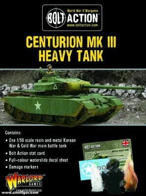 Centurion Mk III - Bolt Action - Warlord Games