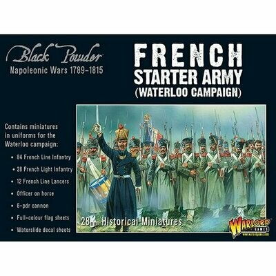 Napoleonic French starter army (Waterloo campaign) - Black Powder - Warlord Games