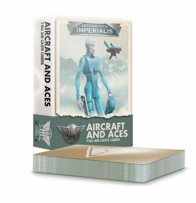 Aeronautica Imperialis: Aircraft and Aces – T'au Air Caste Cards  - Aeronautica Imperialis - Games Workshop
