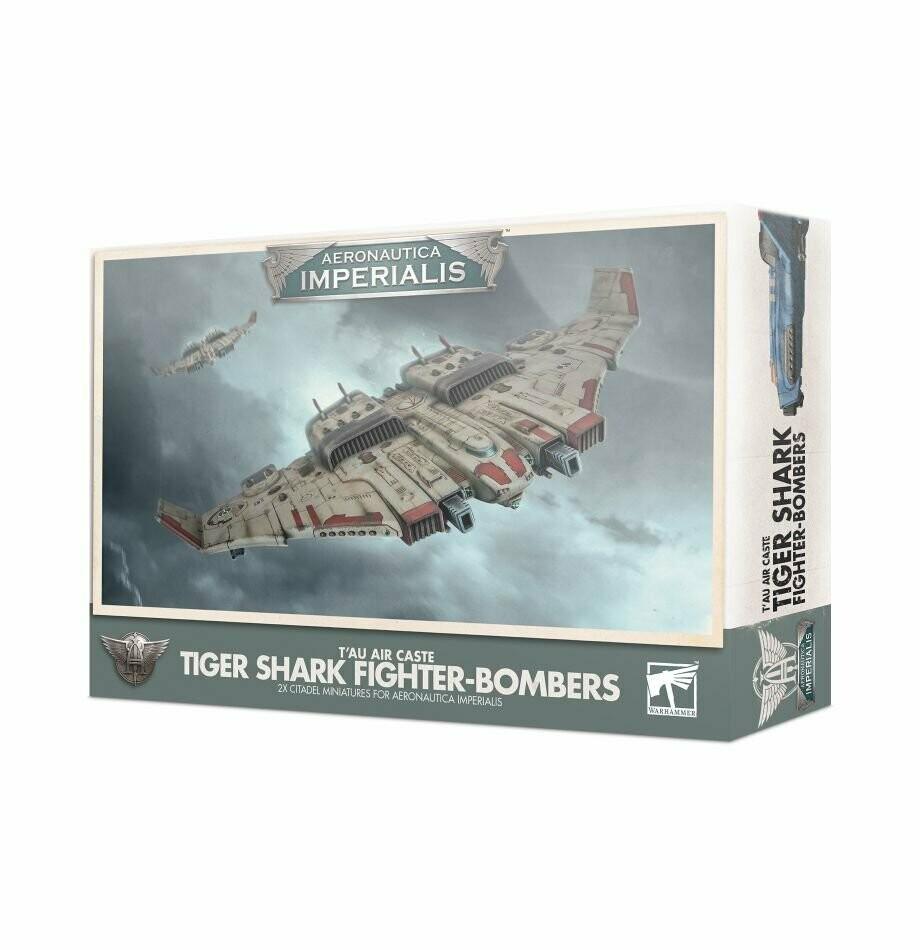 Aeronautica Imperialis: Tiger Shark Fighter-Bombers der T'au-Luftkaste - Aeronautica Imperialis - Games Workshop