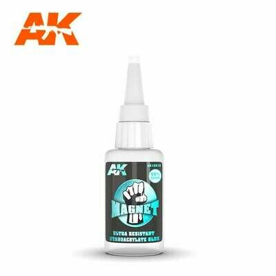 MAGNET ULTRA RESISTANT CYANOCRYLATE GLUE - AK Interactive