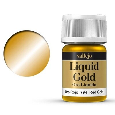 Liquid Gold - Red Gold 794 - Vallejo