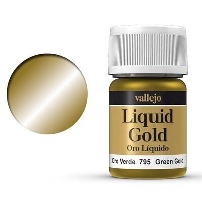 Liquid Gold - Green Gold 795 - Vallejo