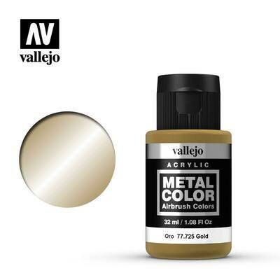 Vallejo Metal Color 77.725 Gold - Vallejo