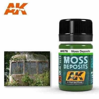 Moss Deposits (Enamel-Farbe) - AK Interactive