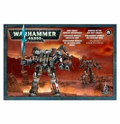 Grey Knight Nemesis Dreadknight- Nemesis-Ritter - Warhammer 40.000 - Games Workshop
