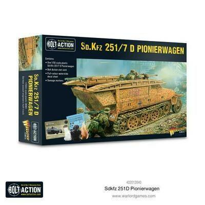 Sd.Kfz 251/7 D Pionierwagen German - Bolt Action