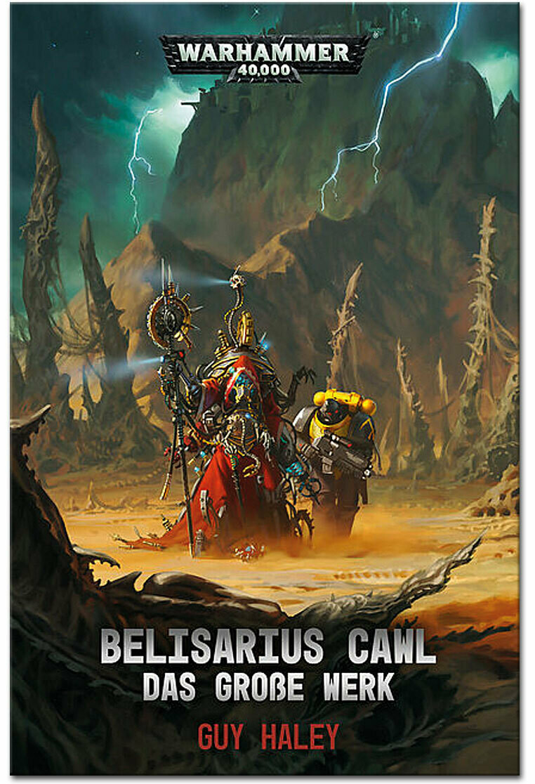 Warhammer 40.000 - Belisarius Cawl: Das grosse Werk - Black Library - Games Workshop