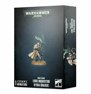 Lord Inquisitor Kyria Draxus vom Ordo Xenos - Warhammer 40.000 - Games Workshop
