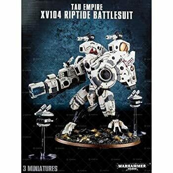 Tau Empire XV104-Sturmflut-Kampfanzug Riptide Battlesuit - Warhammer 40.000 - Games Workshop