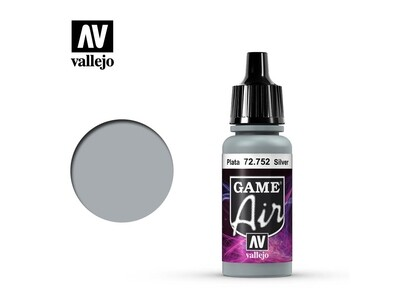 Vallejo Game Air - Silver (17ml)