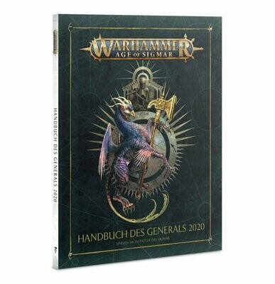 Warhammer Age of Sigmar: Handbuch des Generals 2020 DEUTSCH - Games Workshop - General's Handbook