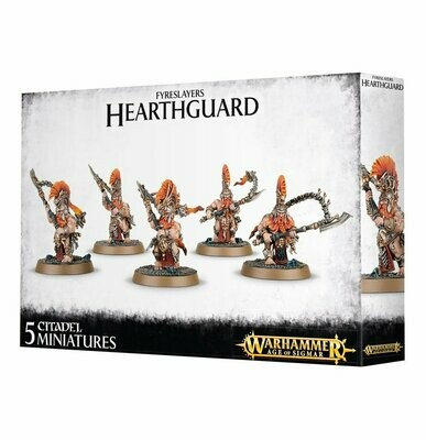 Fyreslayers Hearthguard- Warhammer Age of Sigmar - Games Workshop