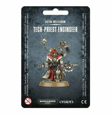Tech-Priest Enginseer - Astra Militarum- Warhammer 40.000 - Games Workshop