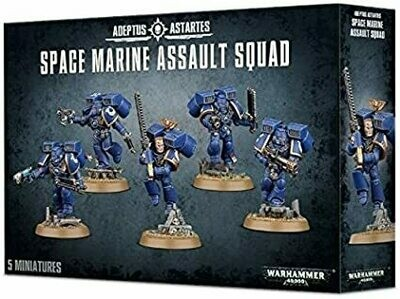 Space Marine Assault Squad - Space Marines - Warhammer 40.000 - Games Workshop