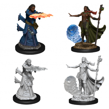 D&D Nolzur's Marvelous Miniatures - Female Human Wizard